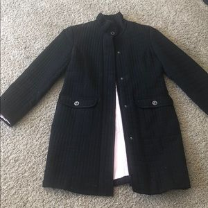 Anne Klein black spring/fall coat small